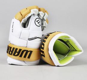 "13"" Warrior Alpha QX Gloves - Team Stock Vegas Golden Knights #6"