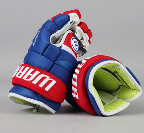 "13"" Warrior Alpha QX Gloves - Team Stock Montreal Canadiens #4"