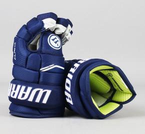 "13"" Warrior Alpha QX Gloves - Team Stock Vancouver Canucks #4"