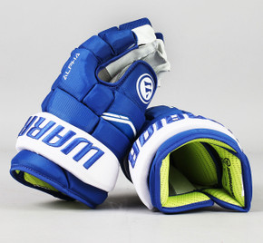 "13"" Warrior Alpha QX Gloves - Team Stock Toronto Maple Leafs #4"