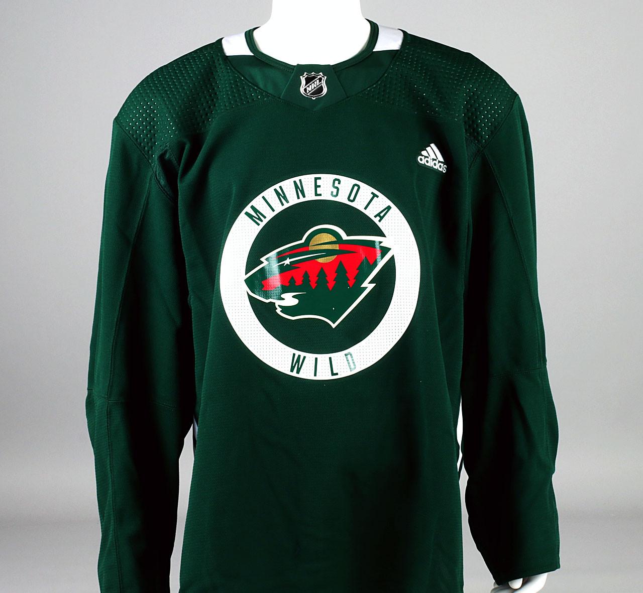 Practice Jersey - Minnesota Wild - Green Adidas Size 56 - Pro ...