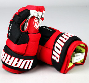 "13"" Warrior Alpha DX Gloves - Team Stock Carolina Hurricanes"