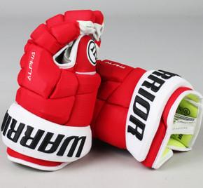 "13"" Warrior Alpha DX Gloves - Team Stock Calgary Flames"