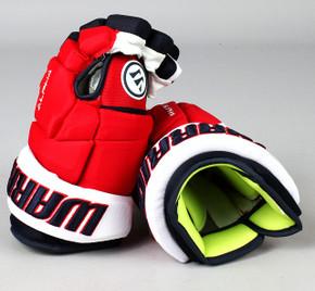 "13"" Warrior Alpha DX Gloves - Team Stock Washington Capitals"