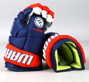 "13"" Warrior Alpha DX Gloves - Team Stock Edmonton Oilers #2"