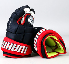 "13"" Warrior Alpha DX Gloves - Team Stock Columbus Blue Jackets #2"