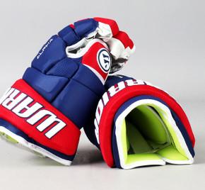 "13"" Warrior Alpha DX Gloves - Team Stock Montreal Canadiens"