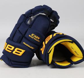 "14"" Bauer Total One MX3 Gloves - Landon Ferraro St. Louis Blues"