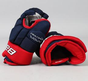 "12.5"" Bauer Vapor X60 Pro Gloves - Kristian Huselius Columbus Blue Jackets"