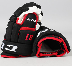 "14"" CCM HG 96 Gloves - Marian Hossa Chicago Blackhawks"