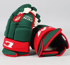 "13"" CCM HG 96 Gloves - Team Stock Minnesota Wild"