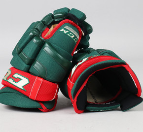 "13"" CCM HG55PP Gloves - Team Stock Minnesota Wild"