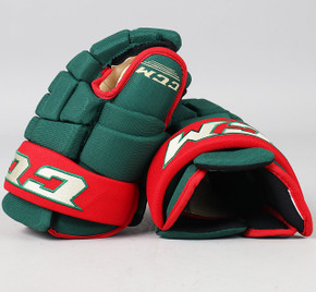 "13"" CCM HG4RXP Gloves - Team Stock Minnesota Wild"