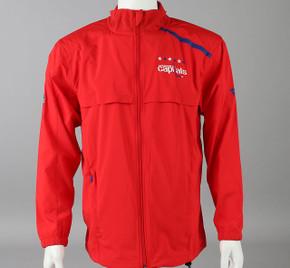 Washington Capitals Medium Authentic Pro Full Zip Warm-up Jacket