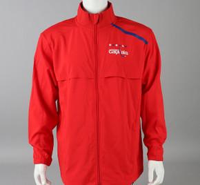 Washington Capitals Large Authentic Pro Full Zip Warm-up Jacket