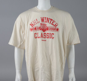 2014 Winter Classic Small Reebok Faceoff Winter Classic Short Sleeve Shirt #2