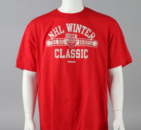 2014 Winter Classic Small Reebok Faceoff Winter Classic Short Sleeve Shirt