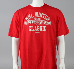 2014 Winter Classic Medium Reebok Faceoff Winter Classic Short Sleeve Shirt