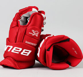 """15"""" Bauer Vapor 1X Lite Pro Gloves - Andreas Athanasiou Detroit Red Wings"""