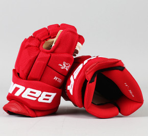 "14"" Bauer Vapor 1X Lite Pro Gloves - Darren Helm Detroit Red Wings"