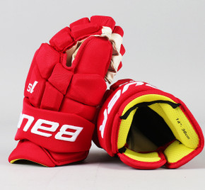 "14"" Bauer Supreme 1S Gloves - Jacob De La Rose Detroit Red Wings"