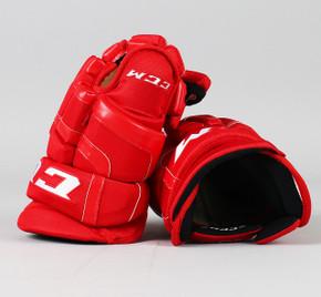 """14"""" CCM HG50PP Gloves - Brendan Perlini Detroit Red Wings"""