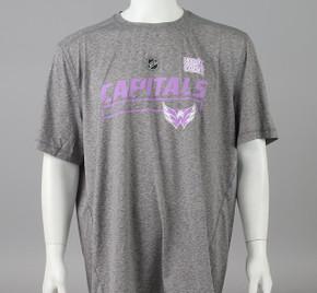 Washington Capitals Large Authentic Pro Hockey Fights Cancer T-shirt