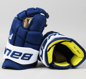 "14"" Bauer Supreme 1S Gloves - Jim Hiller Toronto Maple Leafs"