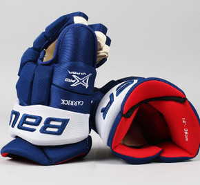 "14"" Bauer Vapor 1X Pro Gloves - Connor Carrick Toronto Maple Leafs"