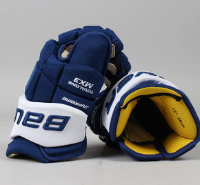 "15"" Bauer Total One MX3 Gloves - Team Stock Toronto Maple Leafs"
