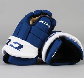 """13"""" CCM HGTK Gloves - Travis Dermott Toronto Maple Leafs"""