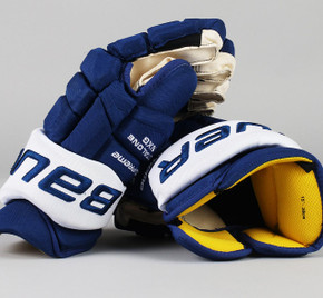 "15"" Bauer Total One NXG Gloves - Team Stock Toronto Maple Leafs"