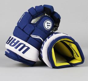 """13"""" Warrior Alpha QX Gloves - Mitchell Marner Toronto Maple Leafs"""