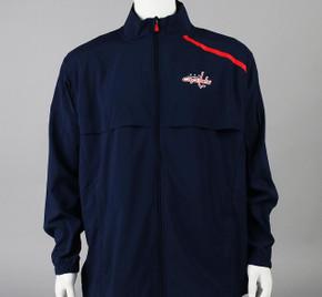 Washington Capitals Large Authentic Pro Full Zip Warm-up Jacket #2