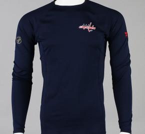 Washington Capitals Large Authentic Pro Long Sleeve Compression Shirt