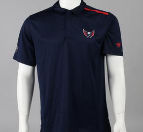 Washington Capitals Large Authentic Pro Short Sleeve Polo Shirt
