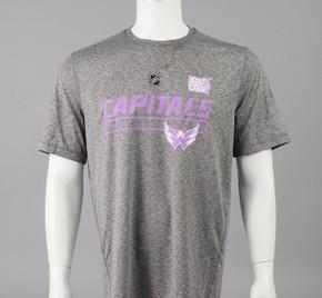 Washington Capitals Large Authentic Pro Hockey Fights Cancer T-shirt #2