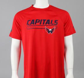 Washington Capitals Large Authentice Pro Short Sleeve Shirt