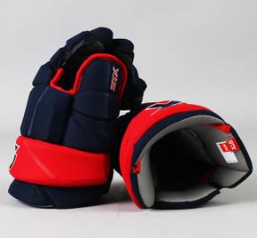 "14"" STX Stallion HPR2 Gloves - Team Stock Columbus Blue Jackets #2"