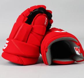 """14"""" STX Stallion HPR2 Gloves - Team Stock Detroit Red Wings #2"""