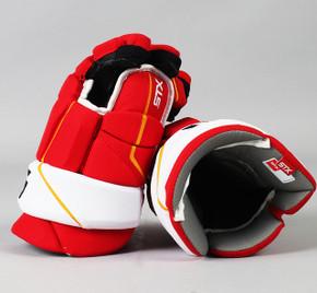 "14"" STX Stallion HPR2 Gloves - Team Stock Calgary Flames"