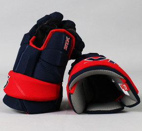 "14"" STX Stallion HPR2 Gloves - Team Stock Columbus Blue Jackets"