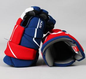 """14"""" STX Stallion HPR2 Gloves - Team Stock Montreal Canadiens"""