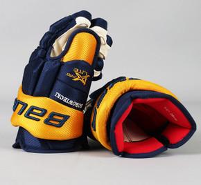 """14"""" Bauer Vapor 1X Lite Pro Gloves - Mark Boroweicki Nashville Predators"""