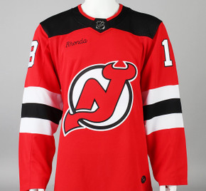 Game Jersey - New Jersey Devils - Red Adidas Size 50 #3