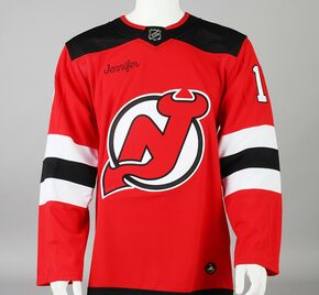 Game Jersey - New Jersey Devils - Red Adidas Size 50 #4
