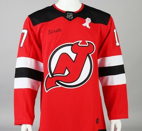 Game Jersey - New Jersey Devils - Red Adidas Size 50
