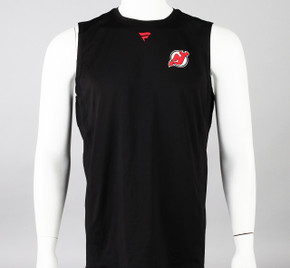 New Jersey Devils Large Authentic Pro Sleeveless Compression Shirt