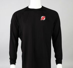 New Jersey Devils Medium Authentic Pro Long Sleeve Compression Shirt