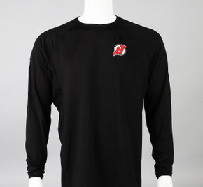 New Jersey Devils Large Authentic Pro Long Sleeve Compression Shirt